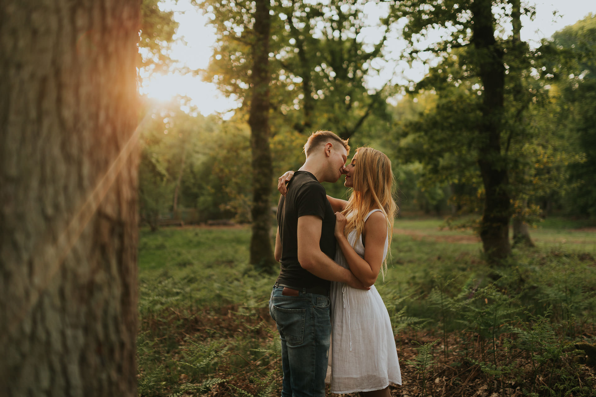 Harewood Forest Engagement Photography Andover Hampshire 13
