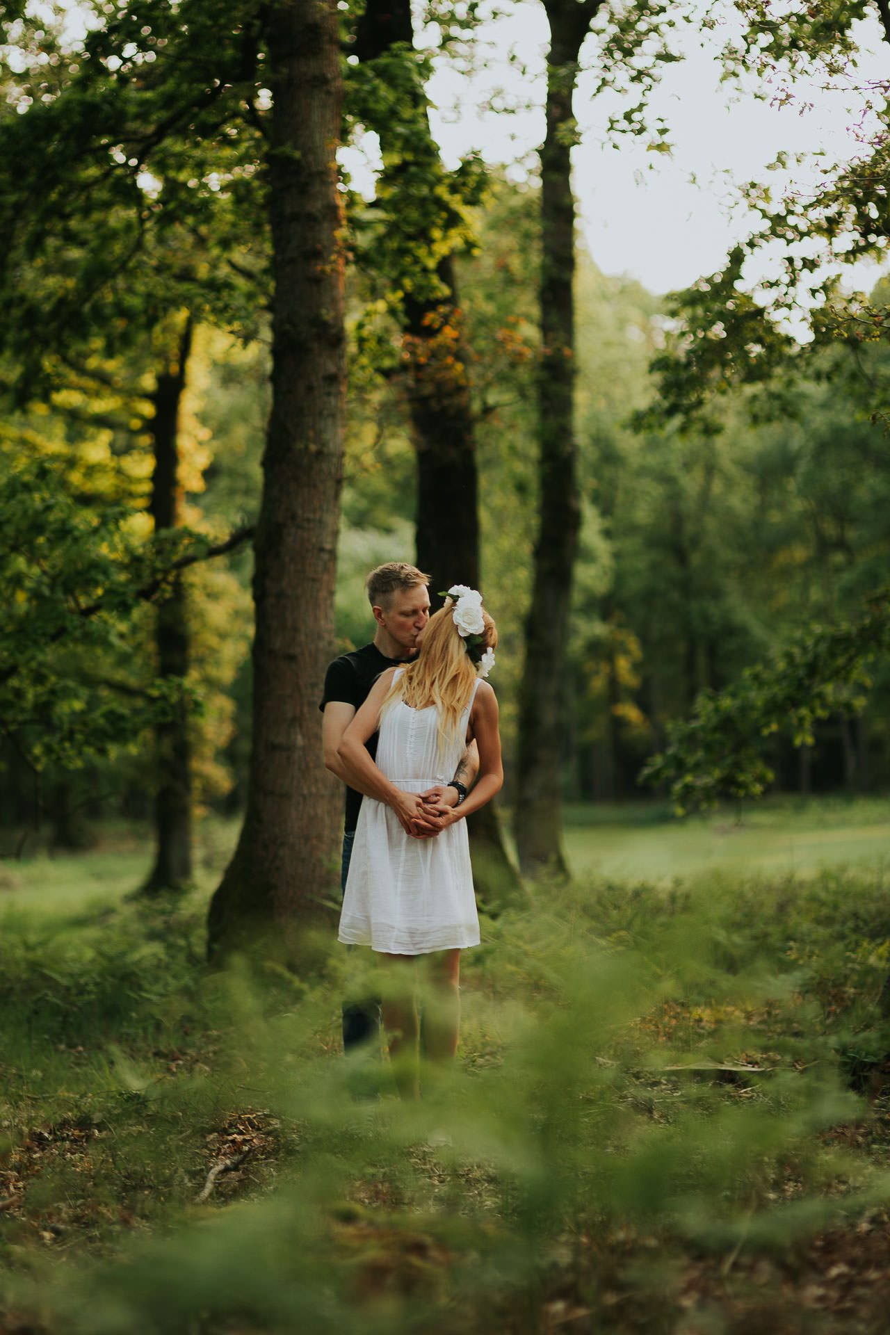 Harewood Forest Engagement Photography Andover Hampshire 20