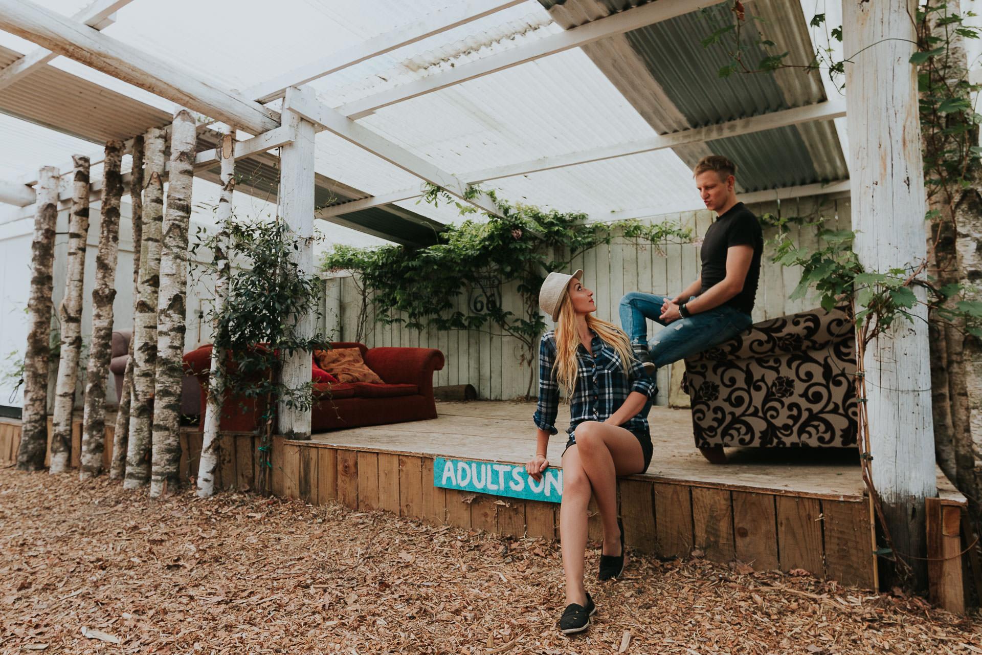 Arleta Pawel Engagement Photoshoot TreeRunners Andover 45