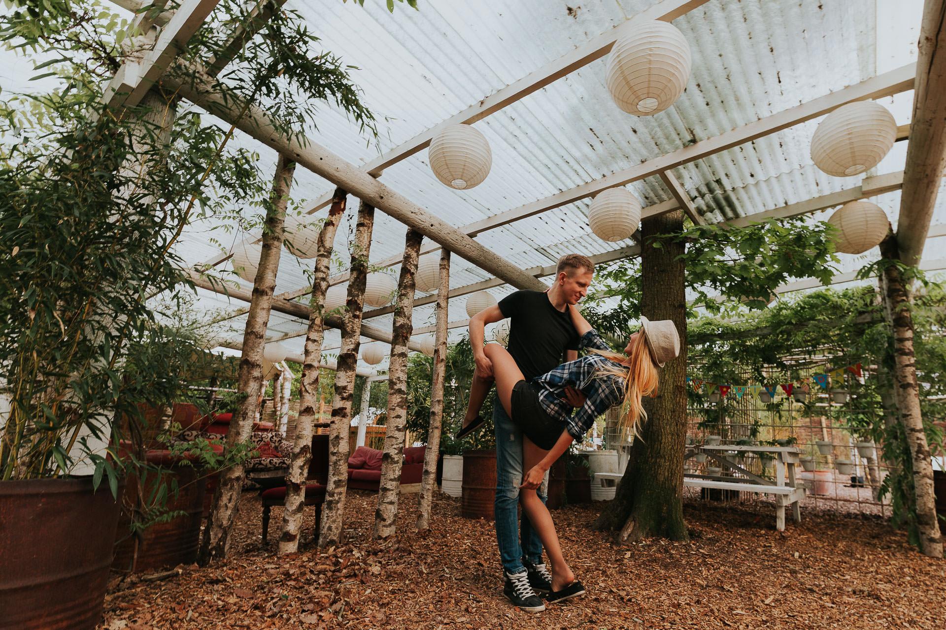 Arleta Pawel Engagement Photoshoot TreeRunners Andover 48