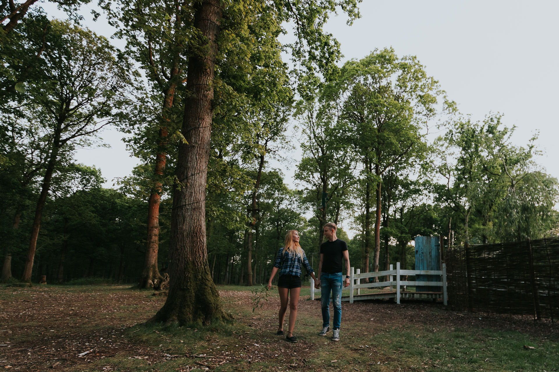 Arleta Pawel Engagement Photoshoot TreeRunners Andover 67