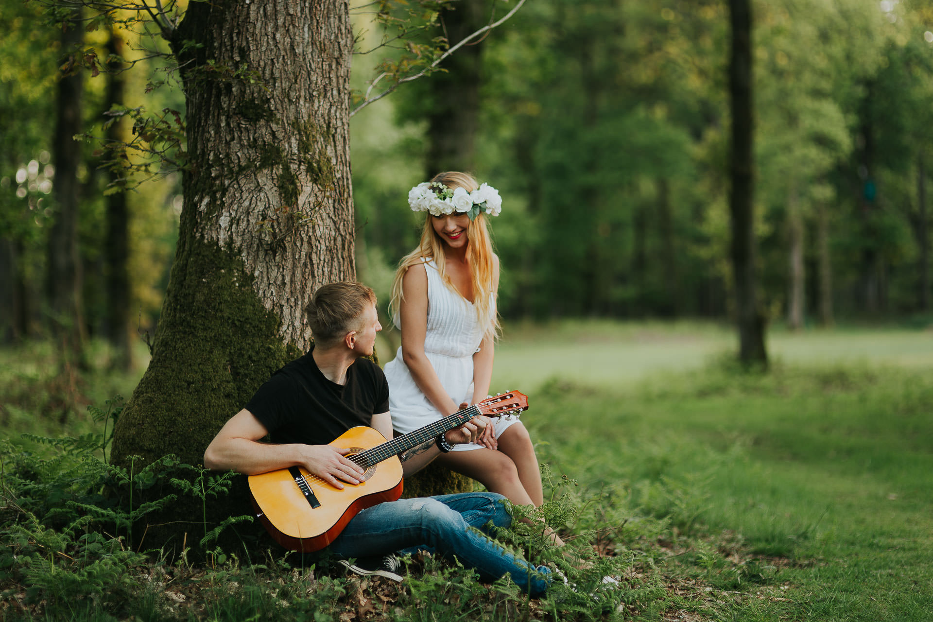 Harewood Forest Engagement Photography Andover Hampshire 25