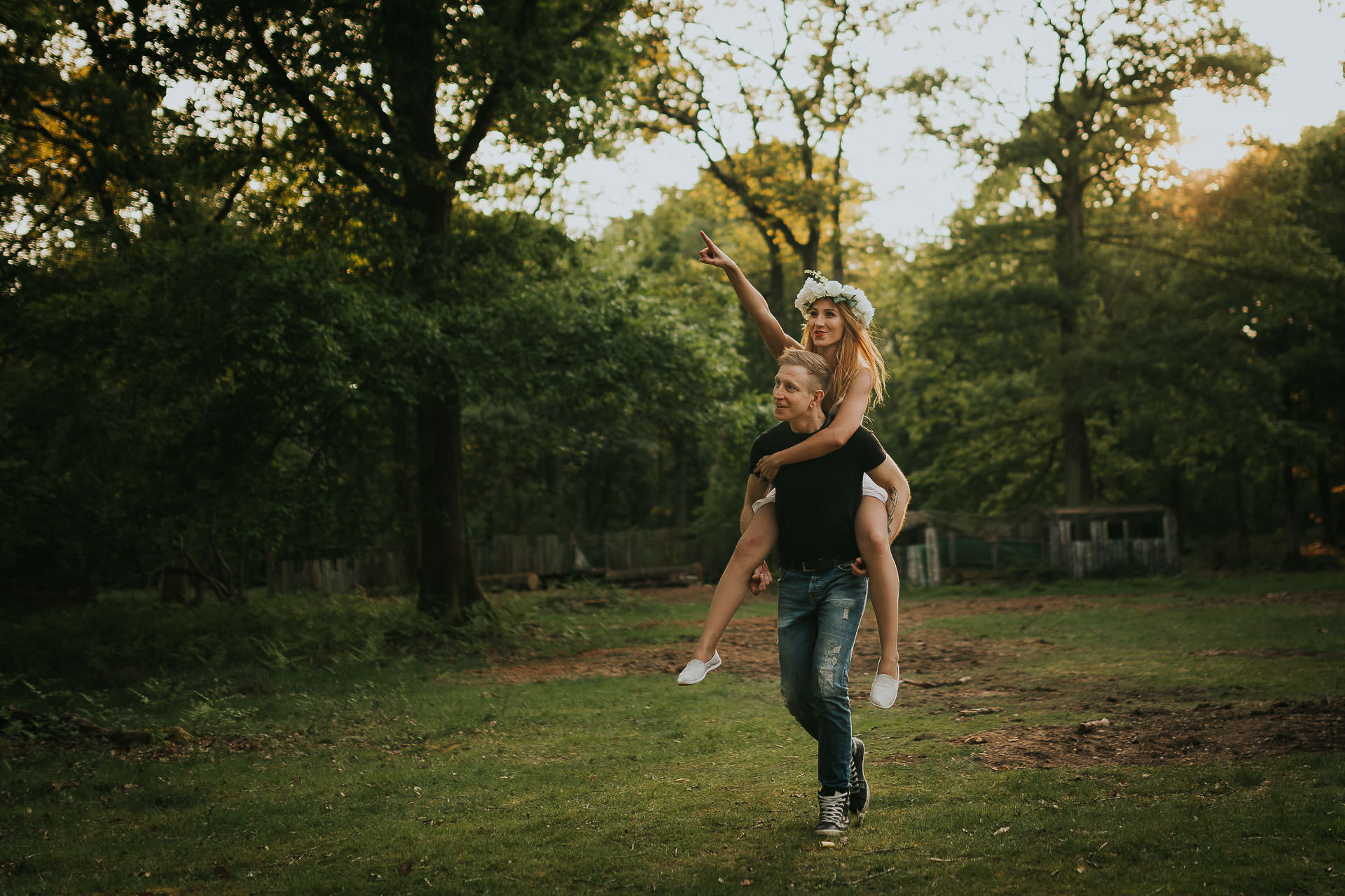 Harewood Forest Engagement Photography Andover Hampshire 4
